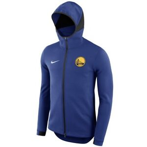 GOLDEN STATE WARRIORS Showtime Hoodie Nike NBA Dry Full-Zip Mens ... 5022f5212