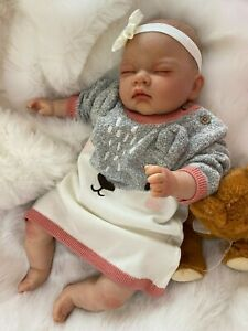 "vinyl parts only FREE GIFT Jesse Reborn baby doll kit  22/"" when finished by you"