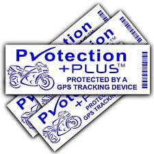 Motorbike Security Stickers-GPS,Tracker Device-Motorcycle Bike Warning Tracking