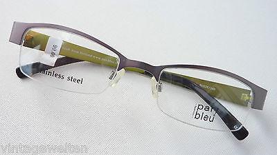 GüNstig Einkaufen Parbleu Markengestell Brille Nur Oberrand Butterfly Steel Silber Grau Grösse M
