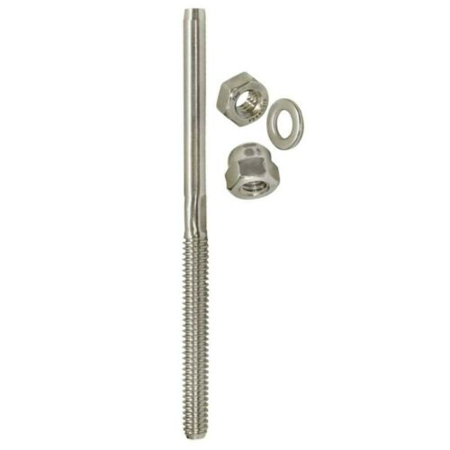 """for 1//8/"""" Cable 10 PC Type 316 Stainless Steel End Fitting for Cable Railing"""