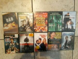 DVD-Lot-of-10-New-amp-Sealed-Assorted-Movies-Wholesale-Resale-Collect-Lot-2