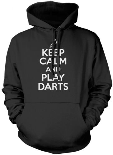 Keep Calm and Play Darts Kids Unisex Hoodie