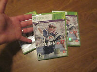 Madden Nfl 17 Xbox 360 2016 Brans Factory Sealed Sport Football