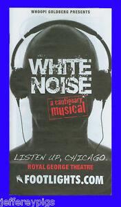Details about Playbill + White Noise + Emily Padgett , Douglas Stills ,  Mackenzie Mauzy