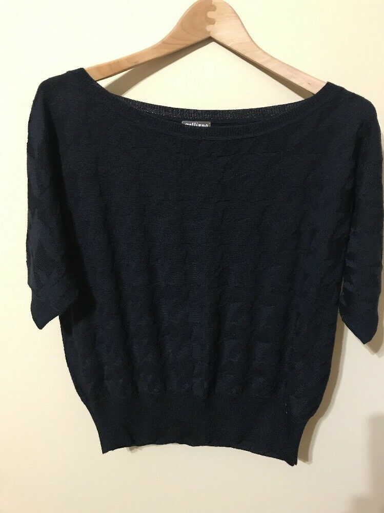 Galliano Woman's Top. Size EU XS