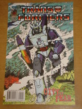 TRANSFORMERS BEST OF UK CITY OF FEAR #4 RI RETRO COVER 2009 IDW