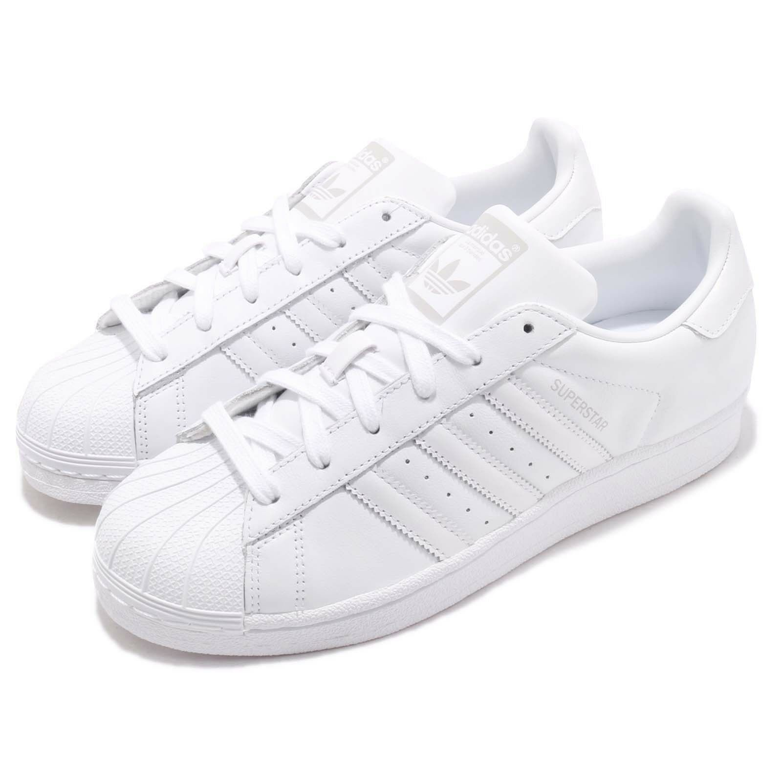Adidas Originals Originals Originals Superstjärna W vit grå kvinnor Casual skor skor AQ1214  detaljhandel