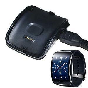 Charging-Cradle-Dock-Charger-For-Samsung-Gear-S-Smart-Watch-SM-R750-Black