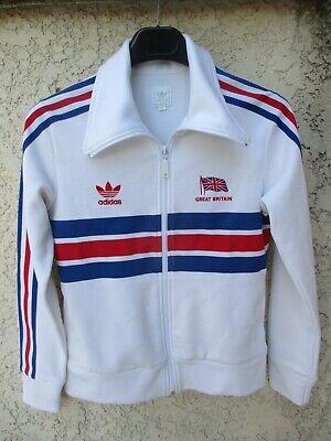 Veste ADIDAS femme GREAT BRITAIN giacca jacket rétro vintage Trefoil 38 | eBay