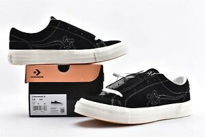 Golf Le Fleur X Converse One Star Floret Series Black And White Board Shoe Ebay