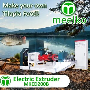 ELECTRIC-EXTRUDER-TO-MAKE-YOUR-OWN-TILAPIA-FISH-FOOD-MKED200B-FREE-SHIPPING