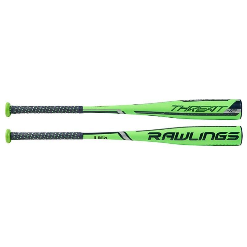 2019 Rawlings Threat Youth 1PC (2 5 8″) Composite USA Baseball Bat US9T12 30 18