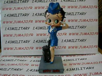 BB9 figurine Betty boop resine en blister MIB 15 cm environ hotesse de l/'air