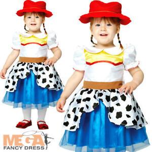 Detalles De Jessie Toy Story Niñas Vestido Elaborado Disfraz De Vaquera Niños Disney Niños Pequeños Niños Ver Título Original