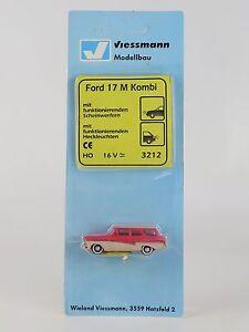 3212 VIESSMANN - ECHELLE H0 - FORD M17 KOMBI AVEC LUMIÈRE HO