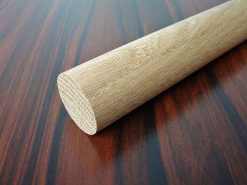 Rundstab Eiche Ø 30 mm x 1000 mm Holzrundstab Bastelstab Rundholz Rundstäbe Holz