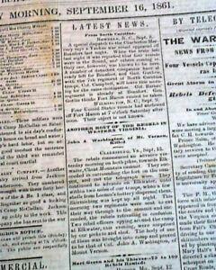 Rare-DAVENPORT-Iowa-Civil-War-Era-w-Battle-of-Cheat-Mountain-WV-1861-Newspaper