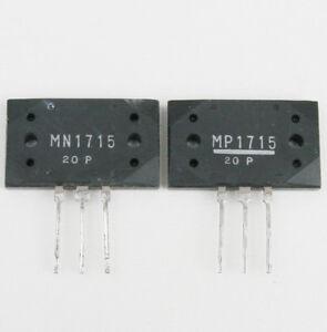 Sanken original Matched transistors MN1715 + MP1715 Group: P