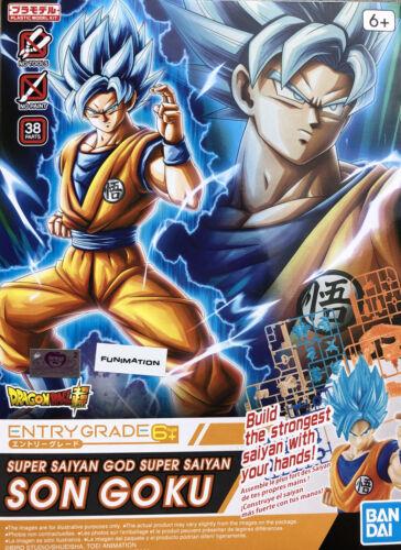 Free Shipping SUPER SAIYAN GOD GOKU Bandai Hobby New Dragon Ball Z