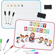 Kids Dry Erase Board And Magnet Set Double Sided Kids Magnetic Dry Erase Dood