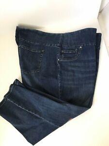 Lee Mujer Elastizados Pantalones Jeans Capri Tire De 28w Mediados De Subida Nuevo Esculpir Ebay