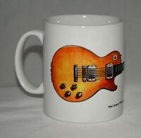 Guitar Mug. Peter Green's Gibson Les Paul illustration.