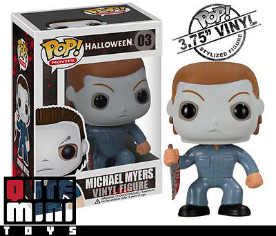 Funko Pop Bundled with Pop BOX PROTECTOR CASE Movies: Halloween Michael Myers Vinyl Figure
