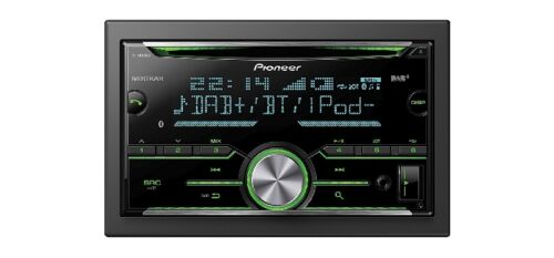 Pioneer radio DAB 2din avec Antenne pour FORD Mustang v 2005-09 sw