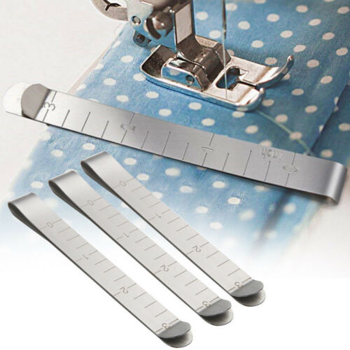 20pcs Quilting Clips Stainless Steel Hemming Clips Measure Ruler Sewing Clips HV