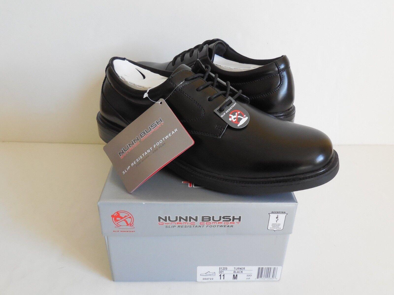 Nunn Bush Turner 81209 Schnürschuh Leder Schuhe Herren 11M Neu