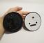 New-Gloss-Black-Front-Hood-90mm-Tailgate-80mm-Logo-Emblem-Badge-For-Skoda-Option miniature 3