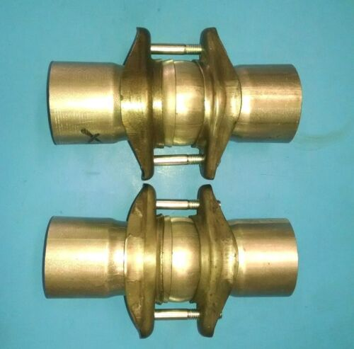 """2 X 2 /""""ID TO 2 /"""" ID  EXHAUST BALL /& SOCKET HEADER COLLECTOR CONNECTION JOINT USA"""