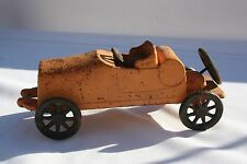 Cast Iron Roadster Rumble Seat Convertible Early 1900's Toy Car