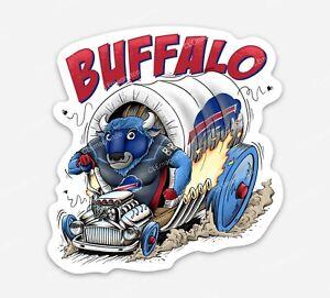Buffalo Bills MAFIA Premium Vinyl STICKER - NFL Fans of Ratfink style original
