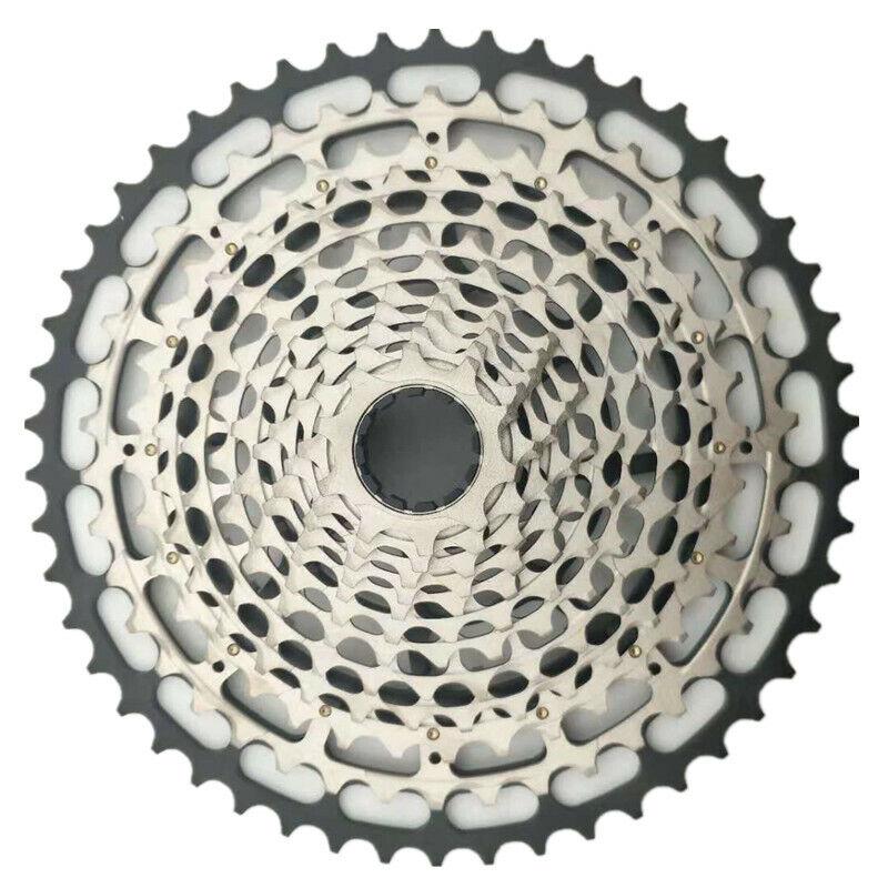SROAD Bicicleta De Montaña Bicicleta Cassette SRAM XD Hub volante de inercia 12S 10-50T XG-1299 compatible