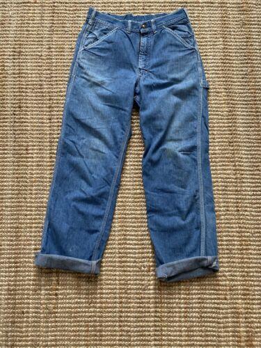 Vintage Men's 1960s Lee Sanforized Jeans denim