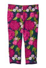 NWT Gymboree PLUM PONY Floral Flower Print Petal Hem Knit Leggings 18-24 M