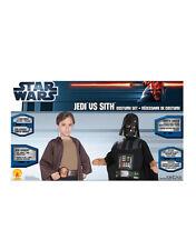 "Jedi vs Sith Kids Star Wars Costume Set,Standard, Age 5 - 7, HEIGHT 4' 2"" - 4' 6"