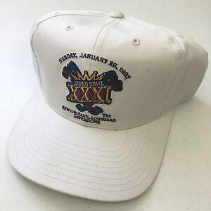 43377d502b7bc9 Image is loading Annco-SuperBowl-XXXI-1997-Louisiana-NFL-Football-Champ-