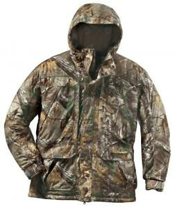 Team whitetail parka