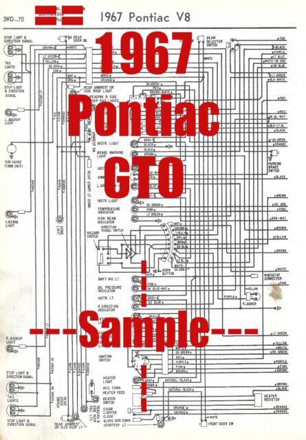 1967 Pontiac GTO Full Car Wiring Diagram *High Quality ...