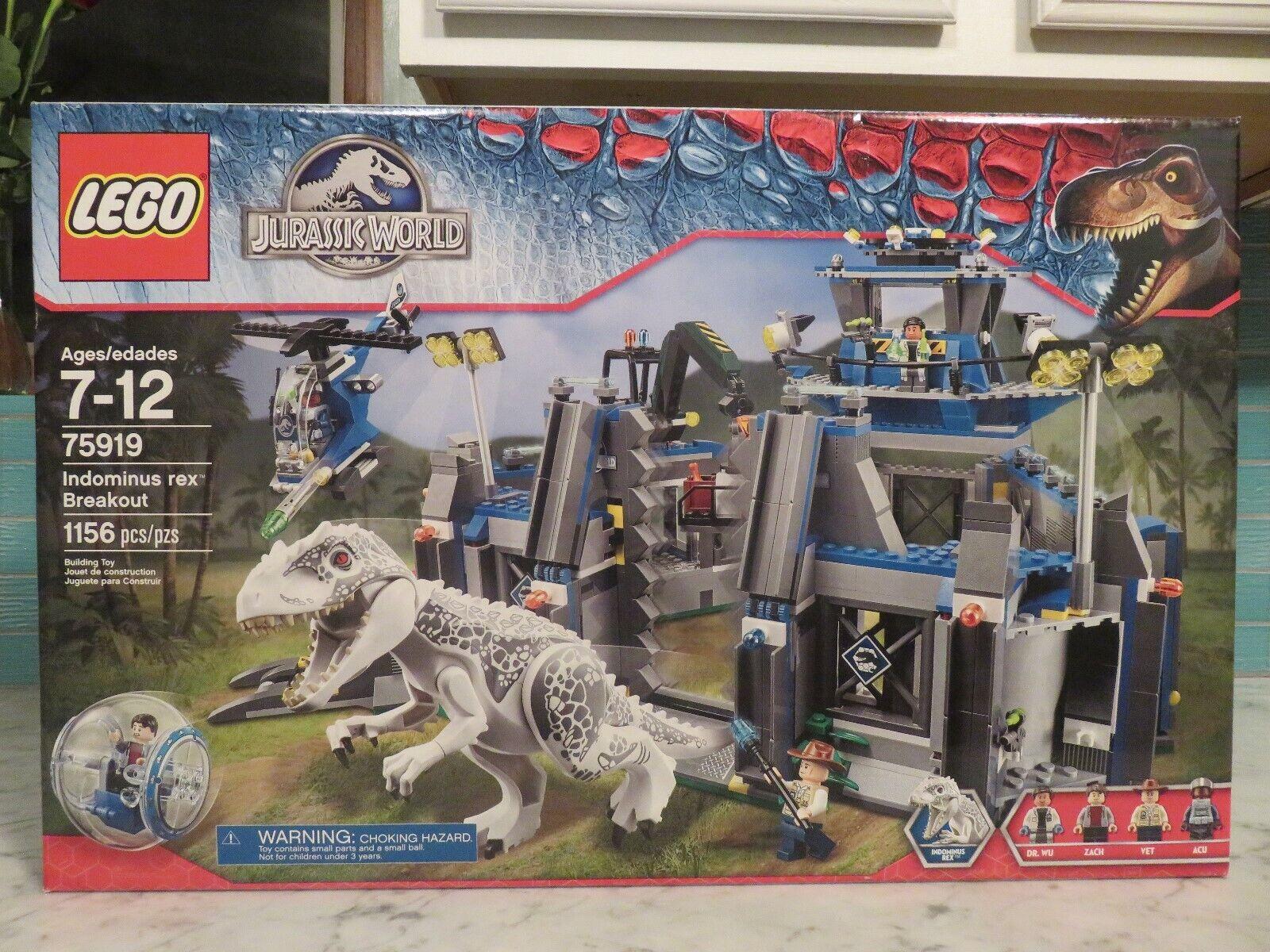 LEGO Jurassic World 75919 Indominus Rex Breakout, New, Sealed
