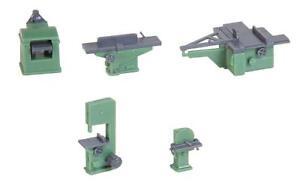 Faller-180961-Echelle-H0-Holzbearbeitungsmaschinen-Neuf-Emballage-D-039-Origine