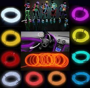 1M-5M-Flexible-EL-Wire-Neon-Light-Dance-Party-Car-Decor-Controller-US37
