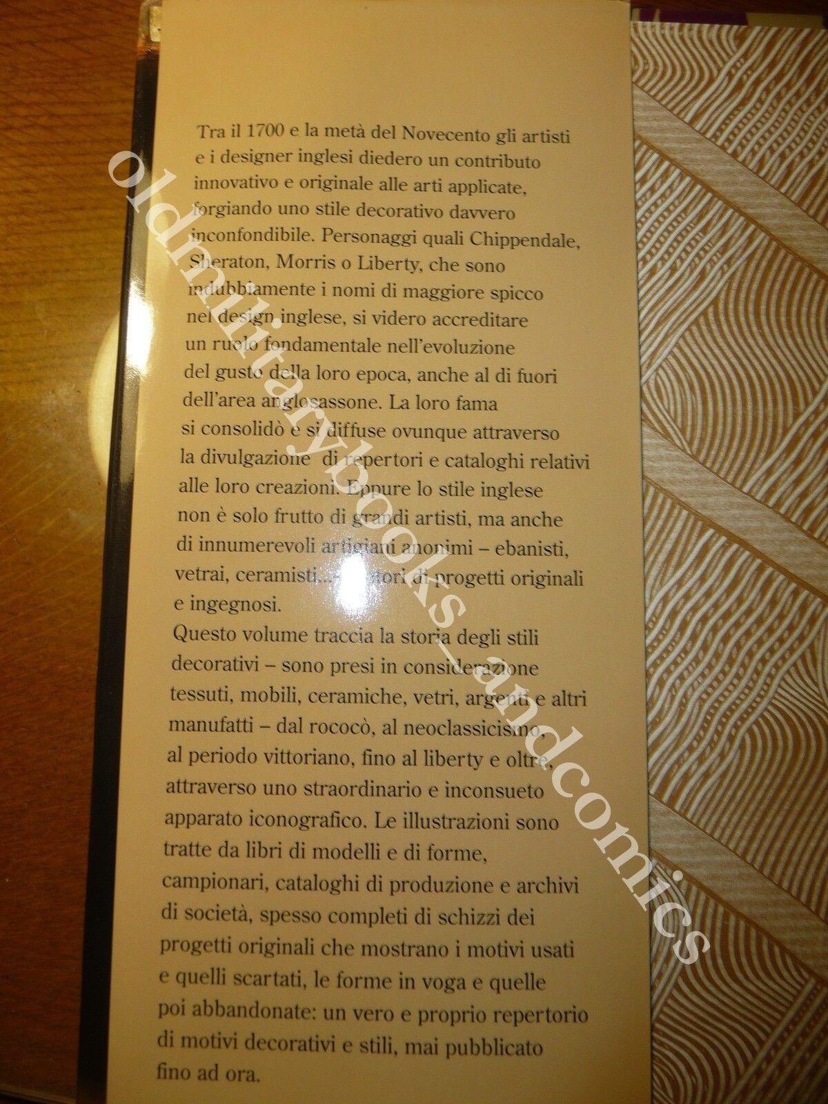 LO STILE INGLESE Repertorio di design e decorazione dal rococò al liberty BEL VOLUME