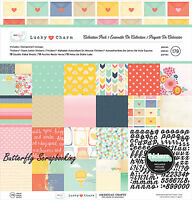 Dear Lizzy Lucky Charm Collection 12x12 Scrapbooking Kit American Crafts
