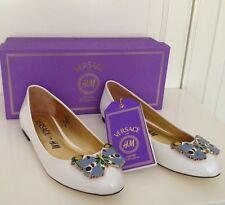 VERSACE for H&M Ballerinas Schuhe weiß Gr 36 Neu
