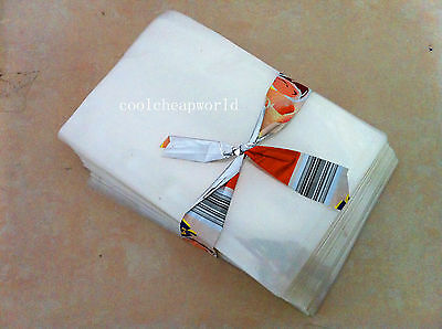 100pcs 18x25 cm Vacuum bags Double Sides Thickness 110 Microns Food Bag