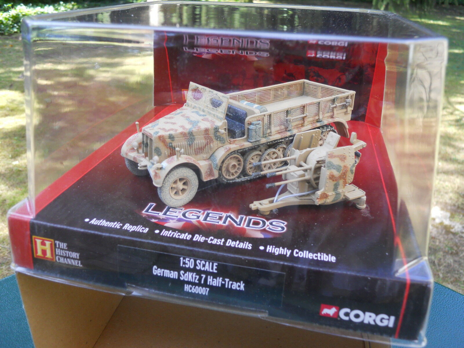 CORGI LEGENDS CC 60007 KRAUSS MAFFEI  FLAKVIERLING 38 MODELE MINT BOX